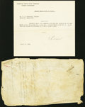 Canadian Currency, Toronto, ON- United Empire Bank of Canada ABNCo DevelopmentalMaterial Four Items.. ... (Total: 4 notes)