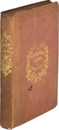 Books:Literature Pre-1900, Charles Dickens. A Christmas Carol. In Prose. A GhostStory of Christmas. London: Chapman & Hall, 1843. Firsted...