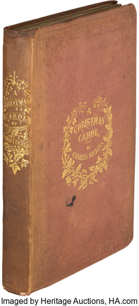 Books:Literature Pre-1900, Charles Dickens. A Christmas Carol. In Prose. A GhostStory of Christmas. London: Ch...