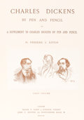 Books:Art & Architecture, [Charles Dickens.] Frederick G. Kitton. Charles Dickens by Pen and Pencil. Including Anecdotes and Reminisces Coll... (Total: 2 Items)