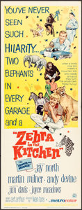 "Movie Posters:Comedy, Zebra in the Kitchen & Other Lot (MGM, 1965). Inserts (10) (14"" X 36""). Comedy.. ... (Total: 10 Items)"