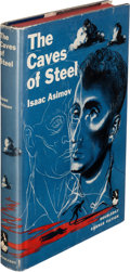 Books:Science Fiction & Fantasy, Isaac Asimov. The Caves of Steel. Garden City, New York: Doubleday & Company, Inc., 1954. First edition, signed by...