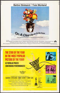 "Funny Girl & Others Lot (Columbia, 1968). Half Sheets (7) (22"" X 28""). Musical. ... (Total: 7 Items)"