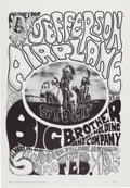 Music Memorabilia:Posters, Family Dog/Avalon Ballroom Concert Posters Complete Set of...
