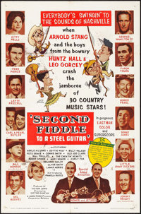 "Second Fiddle to a Steel Guitar & Other Lot (Marathon Pictures, 1965). One Sheet (27"" X 41"") &..."