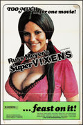 "Movie Posters:Sexploitation, Supervixens (RM Films, 1975). One Sheet (27"" X 41"").Sexploitation.. ..."