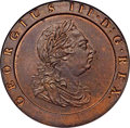 Great Britain, Great Britain: George III 'Cartwheel' 2 Pence 1797 MS64 Brown NGC,...