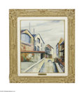 Fine Art:Paintings, ELISEE MACLET (French 1881-1962) Les Bords de la Bievre Oil on canvas 21.75in x 18in Signed lower left Provenance: Gale...