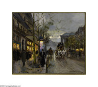 EDOUARD LEON CORTES (French 1882-1969) Oil on canvas 18in. x 21.5in. Signed lower right  A Certificate of Authenticatio...