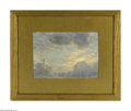 Paintings, WILLIAM ROBINSON LEIGH (American 1866- 1955). Cloud Study. Oil on canvas laid down on board. 10.75in. x 15.5in.. Signed lowe...