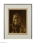 Original Illustration Art:Mainstream Illustration, EDWARD S. CURTIS (American, 1868-1952) U'Wat - Comanche Plate 684Photogravure print on paper 15.5in. x 11.5in. (sight...