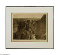 Original Illustration Art:Mainstream Illustration, EDWARD S. CURTIS (American, 1868-1952) Old Trail at Acoma Plate 567Photogravure print on paper 11.5in. x 15.5in. (sig...