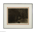 Original Illustration Art:Mainstream Illustration, EDWARD S. CURTIS (American, 1868-1952) Out of the Darkness - NavajoPlate 37 Photogravure print on paper 11.5in. x 15...