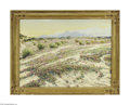 Fine Art:Paintings, JAMES ARTHUR MERRIAM (American 1880- 1951) Palm Springs Oil oncanvas 30in. x 40in. Signed lower right Condition Repo...