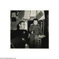 Fine Art:Photography, STAN HEALY (American 1918-1996) Lost Child at Police Station, 1953 9.875in. x 10in. Edition: 2/100 Condition Repor...