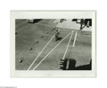 Photographs, STAN HEALY (American 1918-1996) . Crosswalk, Missoula . 8.75in. x 12.75in. . Edition: 2/100 . Condition Report: Overall ve...
