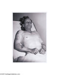 Fine Art:Photography, STAN HEALY (American 1918-1996) Gayle Starr, alias Harry Upton, c.1965 9in. x 13in. Edition: 1/100 Condition Report...