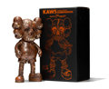 Fine Art - Sculpture, American:Contemporary (1950 to present), KAWS X Pushead. Companion (Bronze), 2005. Painted castvinyl. 10-3/4 x 5-1/2 x 3 inches (27.3 x 14 x 7.6 cm) (toy).12-1...