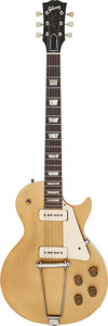 Musical Instruments:Electric Guitars, 1952 Gibson Les Paul Std Goldtop Solid Body Electric Guitar.. ...(Total: 3 )