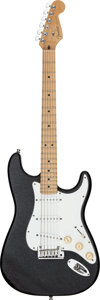 Musical Instruments:Electric Guitars, 1995 Fender Custom Shop American Classic Stratocaster Black Sparkle Solid Body Electric Guitar, Serial # CN402001....