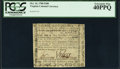 Colonial Notes:Virginia, Virginia October 16, 1780 $100 PCGS Extremely Fine 40PPQ.. ...