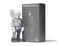Fine Art - Sculpture, American:Contemporary (1950 to present), KAWS (b. 1974). Dissected Companion (Grey), 2006. Paintedcast vinyl. 14-3/4 x 6-1/2 x 3-1/2 inches (37.5 x 16.5 x 8.9 c...