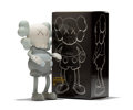 Fine Art - Sculpture, American:Contemporary (1950 to present), KAWS (b. 1974). Companion (Grey), 1999. Painted cast vinyl.7-1/2 x 4-1/4 x 2 inches (19.1 x 10.8 x 5.1 cm) (toy). 8-1/4...