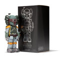 Collectible, KAWS X Lucas Films. Boba Fett, 2013. Painted cast vinyl. 9-3/4 x 4-5/8 x 3-3/4 inches (24.8 x 11.7 x 9.5 cm) (toy). 12-1...