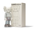 Fine Art - Sculpture, American:Contemporary (1950 to present), KAWS (b. 1974). Five Years Later Companion (Grey), 2004.Painted cast vinyl. 14-3/4 x 6-1/2 x 3-3/4 inches (37.5 x 16.5 ...