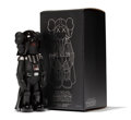 Fine Art - Sculpture, American:Contemporary (1950 to present), KAWS X Lucas Films. Darth Vader, 2007. Painted cast vinyl.9-3/4 x 4-1/2 x 3-1/2 inches (24.8 x 11.4 x 8.9 cm) (toy). 12...
