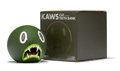 Collectible, KAWS (b. 1974). Cat Teeth Bank (Green), 2007. Painted cast vinyl. 5 x 5 x 5 inches (12.7 x 12.7 x 12.7 cm) (toy). 6-3/8 ...