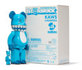 Fine Art - Sculpture, American:Contemporary (1950 to present), KAWS X BE@RBRICK. Chompers 400% and 100% (two works),2003. Painted cast vinyl. 10-3/4 x ...