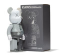 Fine Art - Sculpture, American:Contemporary (1950 to present), KAWS X BE@RBRICK. Dissected Companion 400% (Grey), 2010.Painted cast vinyl. 10-3/4 x 5 x 3-1/2 inches (27.3 x 12.7 x 8....