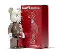 Fine Art - Sculpture, American:Contemporary (1950 to present), KAWS X BE@RBRICK. Dissected Companion 400%, 2008. Paintedcast vinyl. 10-3/4 x 5 x 3-1/2 inches (27....