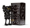 Fine Art - Sculpture, American:Contemporary (1950 to present), KAWS (b. 1974). Companion (Black), 1999. Painted cast vinyl.7-1/2 x 4-1/4 x 2 inches (19.1 x 10.8 x 5.1 cm) (toy). 8-1/...