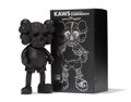 Fine Art - Sculpture, American:Contemporary (1950 to present), KAWS X Pushead. Companion (Black), 2005. Painted cast vinyl.10-3/4 x 5-1/2 x 2-1/2 inches (27.3 x 1...