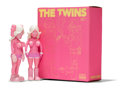 Fine Art - Sculpture, American:Contemporary (1950 to present), KAWS X Todd James. The Twins (Pink) (two works), 2006.Painted cast vinyl. 8 x 3 x 1-3/4 inches (20....