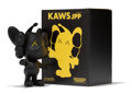 Fine Art - Sculpture, American:Contemporary (1950 to present), KAWS (b. 1974). JPP (Black), 2008. Painted cast vinyl. 7-3/4x 5 x 3 inches (19.7 x 12.7 x 7.6 cm) (toy). 9-1/2 x 7-1/4 ...