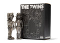 Fine Art - Sculpture, American:Contemporary (1950 to present), KAWS X Todd James. The Twins (Glitter) (two works), 2006.Cast vinyl. 8 x 3 x 1-3/4 inches (20.3 x 7.6 x 4.4 cm) (toy, e...