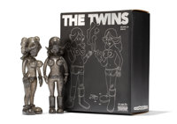 KAWS X Todd James The Twins (Glitter) (two works), 2006 Cast vinyl 8 x 3 x 1-3/4 inches (20.3 x 7