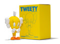 Fine Art - Sculpture, American:Contemporary (1950 to present), KAWS X Warner Bros.. Tweety, 2010. Painted cast vinyl. 9-1/4x 6-1/2 x 4 inches (23.5 x 16.5 x 10.2 cm) (toy). 11-3/8 x ...