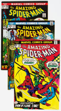 Bronze Age (1970-1979):Superhero, The Amazing Spider-Man Group of 36 (Marvel, 1972-79) Condition:Average VF+.... (Total: 36 Comic Books)