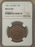 World Lots, World Lots: 4-Piece Group of Certified Assorted World Issues,...(Total: 3 coins)