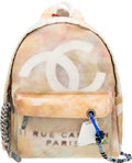 "Luxury Accessories:Bags, Chanel Runway Graffiti Art School Canvas Backpack. Condition 1.12.5"" Width x 16"" Height x 6"" Depth. ..."