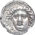 Ancients:Greek, Ancients: THESSALY. Larissa. Ca. 400-365 BC. AR drachm (17mm, 5.71gm, 5h). NGC AU ★ 5/5 - 5/5, Fine Style....