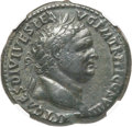 Ancients:Roman Imperial, Ancients: Titus (AD 79-81). AE sestertius (34mm, 26.25 gm, 7h). NGCChoice VF 4/5 - 4/5....