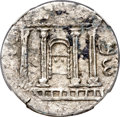Ancients:Judaea, Ancients: JUDAEA. Bar Kokhba Revolt (AD 132-135). AR sela (25mm,14.77 gm, 1h). NGC AU 4/5 - 3/5....