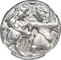 Ancients:Greek, Ancients: THRACE. Siris (Lete). Ca. 525-480 BC. AR stater (19mm,9.88 gm). NGC Choice XF ★ 5/5 - 4/5....