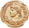 Ancients:Roman Imperial, Ancients: Valens (AD 364-378). AV solidus (22mm, 4.52 gm, 12h). NGCChoice XF 5/5 - 4/5....