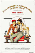 "Movie Posters:Crime, The Sting (Universal, 1973). Folded, Fine. One Sheet (27"" X 41"").Richard Amsel Artwork. Crime.. ..."